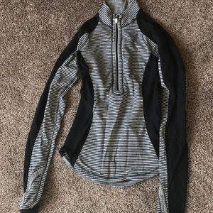 Lululemon Stripe Half Zip